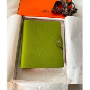 New Hermes Ulysse PM notebook cover with refill
